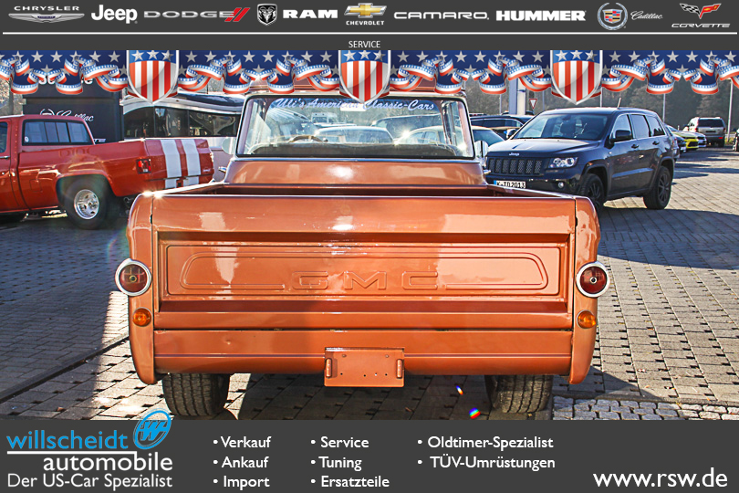 Oldtimer GMC Series 100 1/2 ton Pickup - GMC 102 PickUp